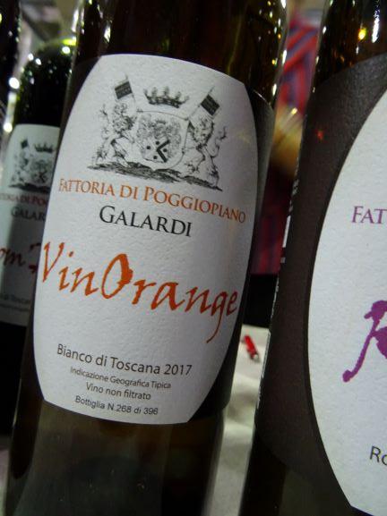 orange wine Italia Toscana
