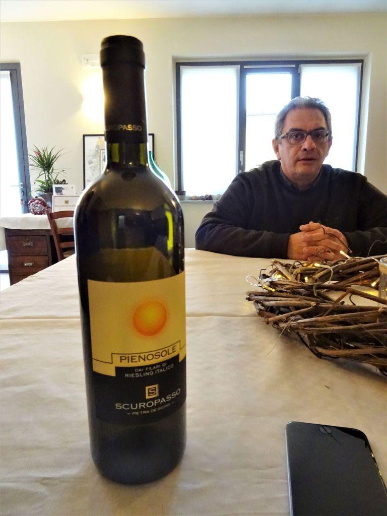 Cantina Scuropasso, Fabio Marazzi e Riesling Italico