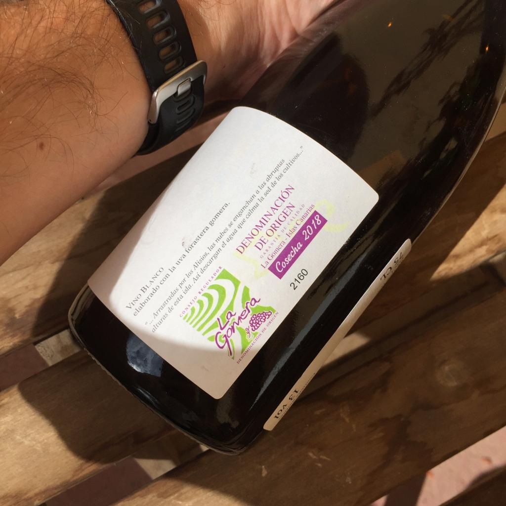 Forastera Gomera 2018 Tenerife Wine DO la Gomera